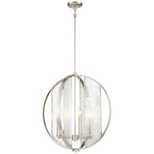 Orren Ellis Cayeman 4-Light Globe Chandelier