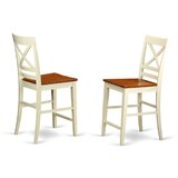 Pilger 24 Bar Stool (Set of 2) by August Grove®