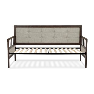 Trent Austin Design Danvers Twin Metal Daybed with Button-Tufted Upholstery