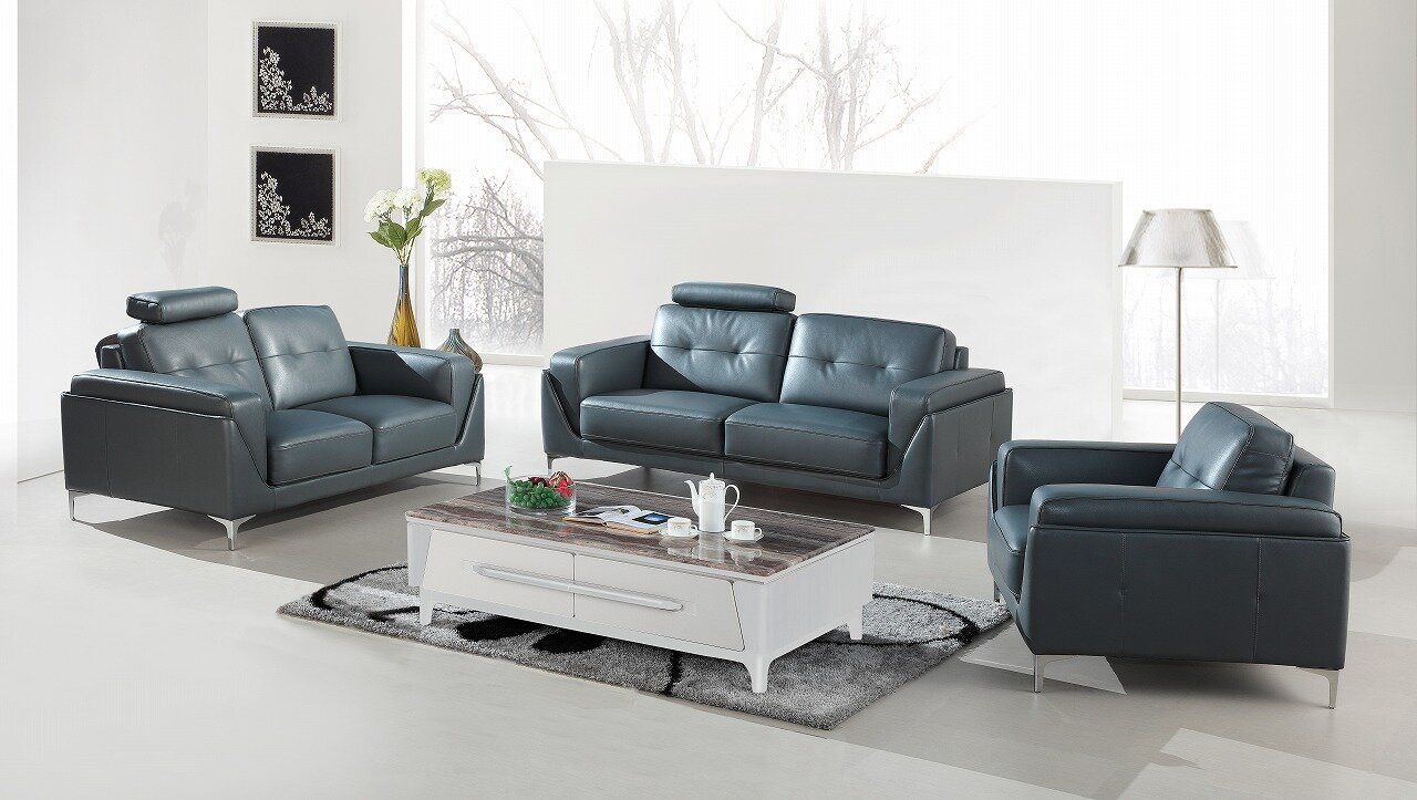 Orren Ellis Coalpit Heath 3 Piece Living Room Set | Wayfair