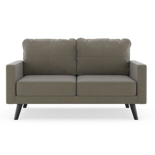 Cowhill Oxford Weave Loveseat by Corrigan Studio Best #1
