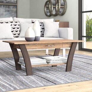 Chesterle Coffee Table with Drawer