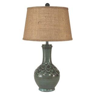 Lawless Fleur De Lis 30 Table Lamp