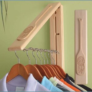 Clothes Hanging System by InstaHANGER
