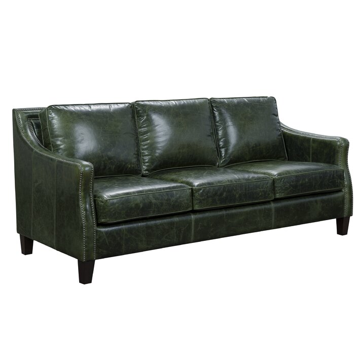Marvelous Barrington Leather Sofa Pabps2019 Chair Design Images Pabps2019Com