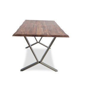Puckett Edge Solid Wood Dining Table