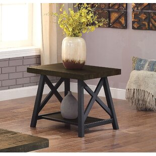 Mayur Industrial End Table by Gracie Oaks