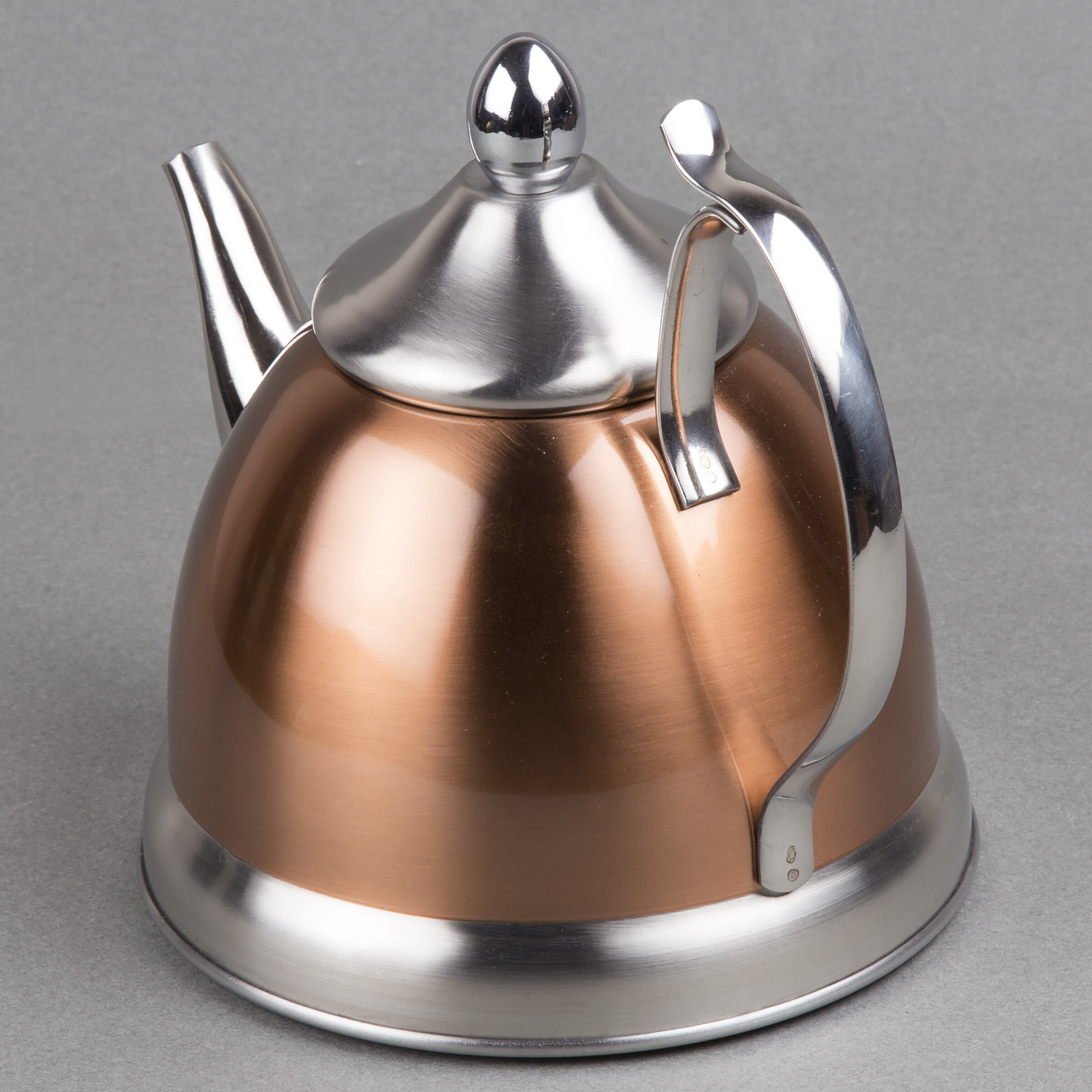 creative home 1 qt nobili tea stainless steel stovetop
