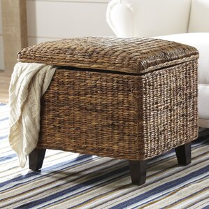 Kilgore Rattan Ottoman by Birch Lane?