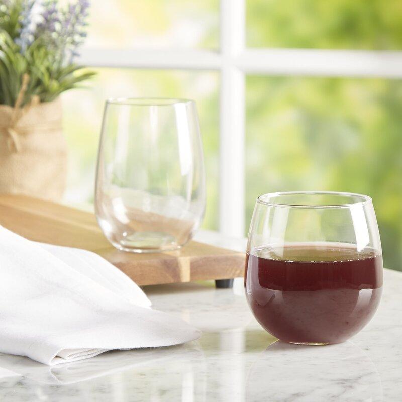 Wayfair Basics Stemless Wine Glass