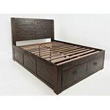 Delma King Storage Platform Bed by Loon Peak®