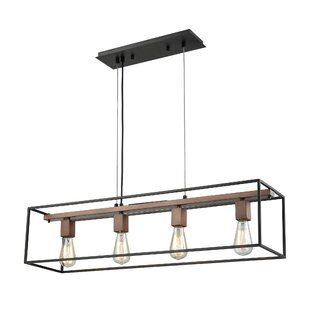 Wade Logan Craigsville 4-Light Kitchen Island Pendant