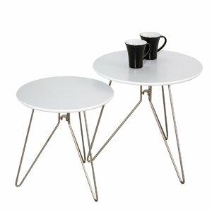 2-tlg. Satztisch-Set Alegro von Hokku Designs