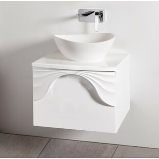 610mm Wall Hung Single Vanity Unit By Willa Arlo Interiors