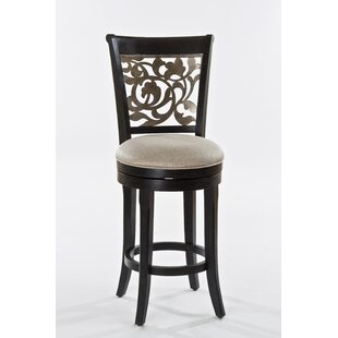 Chuckanut 30 Swivel Bar Stool Fleur De Lis Living