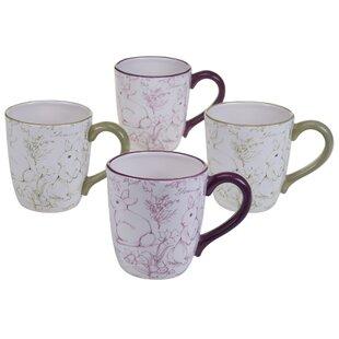 Palfi Toile Coffee Mug (Set of 4)