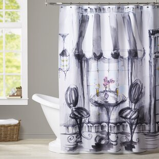 Boxford Bistro Bubbly Single Shower Curtain