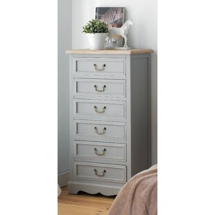 Alison 6 Drawer Chest Of Drawers By August Grove