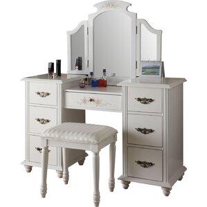 vanity makeup. Claire Makeup Vanity  Mirror Set Bedroom Vanities Joss Main