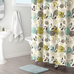 Affordable Price Basswood Shower Curtain By Red Barrel Studio