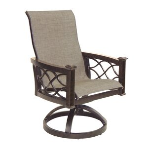 La Reserve Sling Swivel Rocking Chair