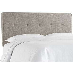 Brayden Studio Deforest Tufted Upholstered Panel Headboard