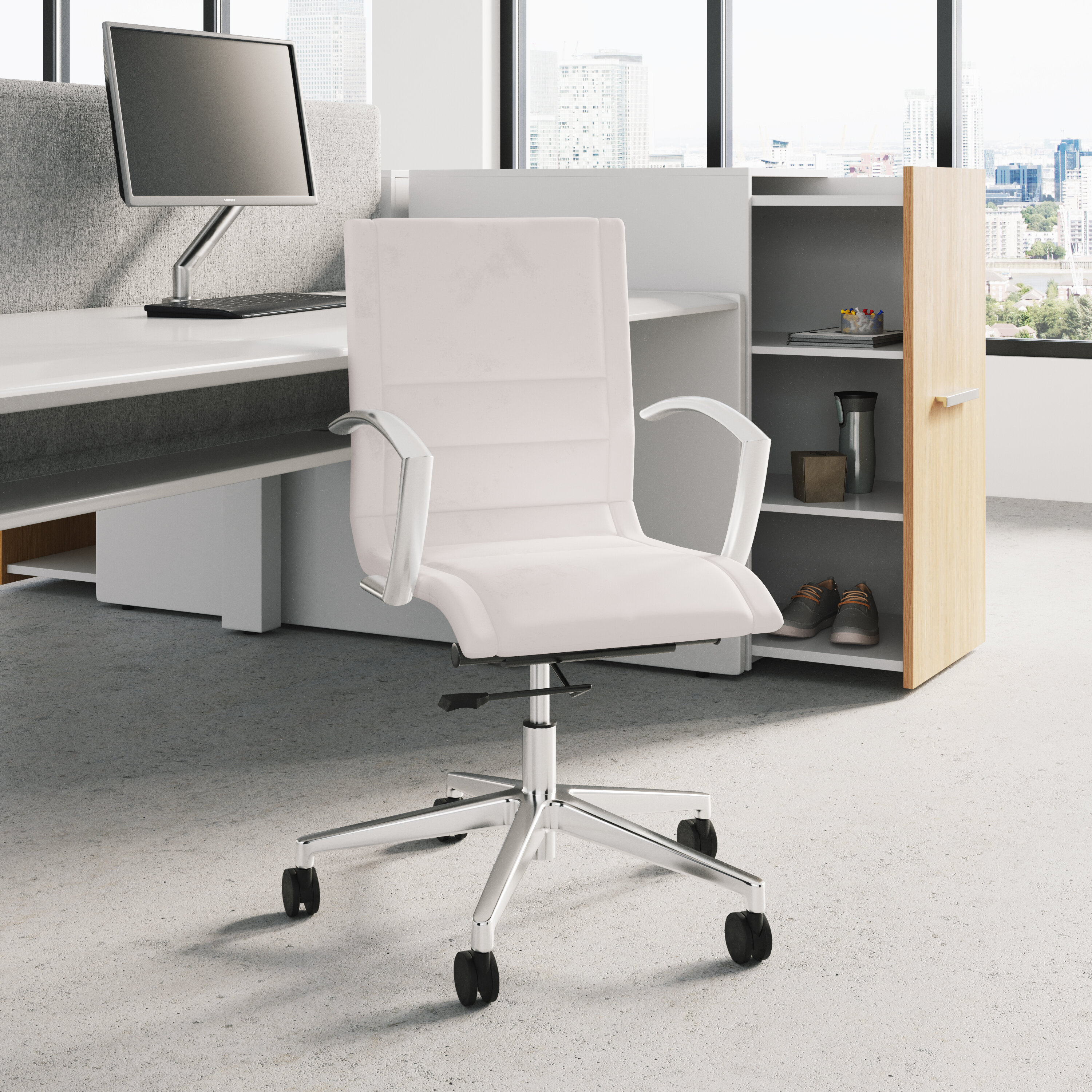 Chrome Conference Office Chairs You Ll Love In 2021 Wayfair