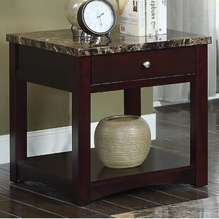 Recker End Table with Storage