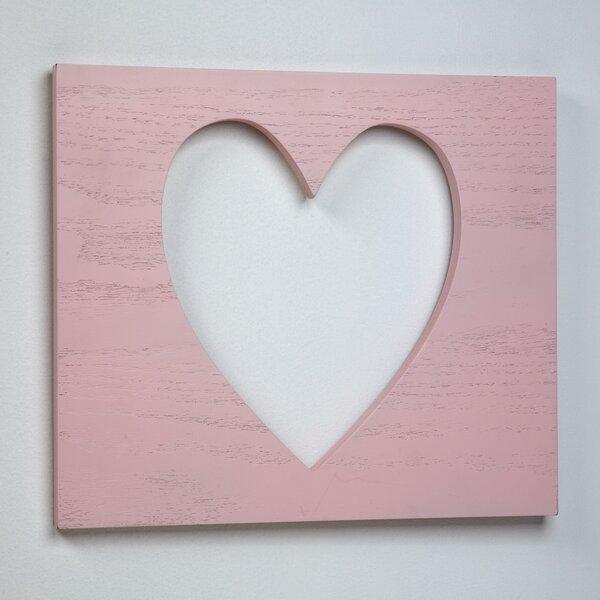 Carter S Heart Of Gold Wooden Wall Plaque Wayfair