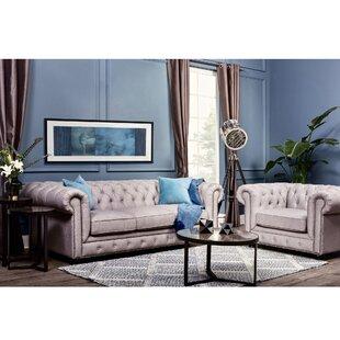 Tanisha Chesterfield Configurable Living Room Set