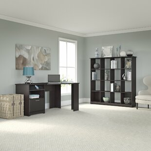 Red Barrel Studio Hillsdale 2-Piece Rectangular Desk Office Suite