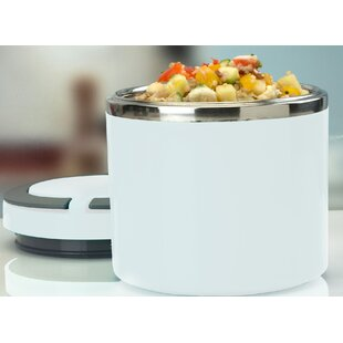 Round Twist Stainless Steel Food Storage Container