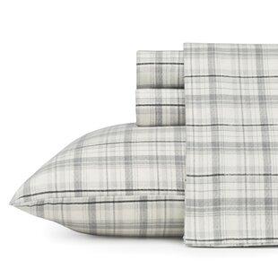 Beacon Hill 100% Cotton Flannel Sheet Set by Eddie Bauer