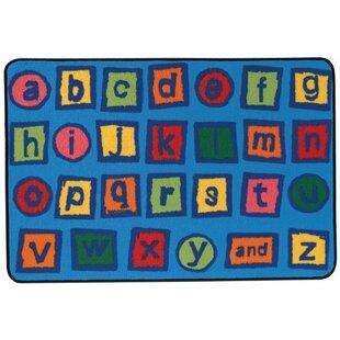 Alphabet Blocks Kids Rug