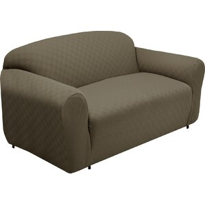 Box Cushion Loveseat Slipcover by Andover Mills