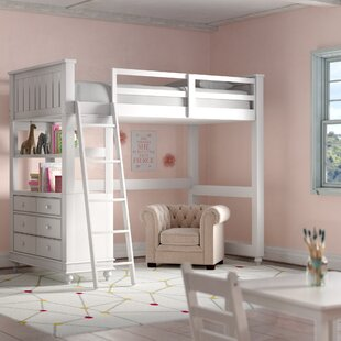 Twin Holly Loft Bed by Viv + Rae Sale
