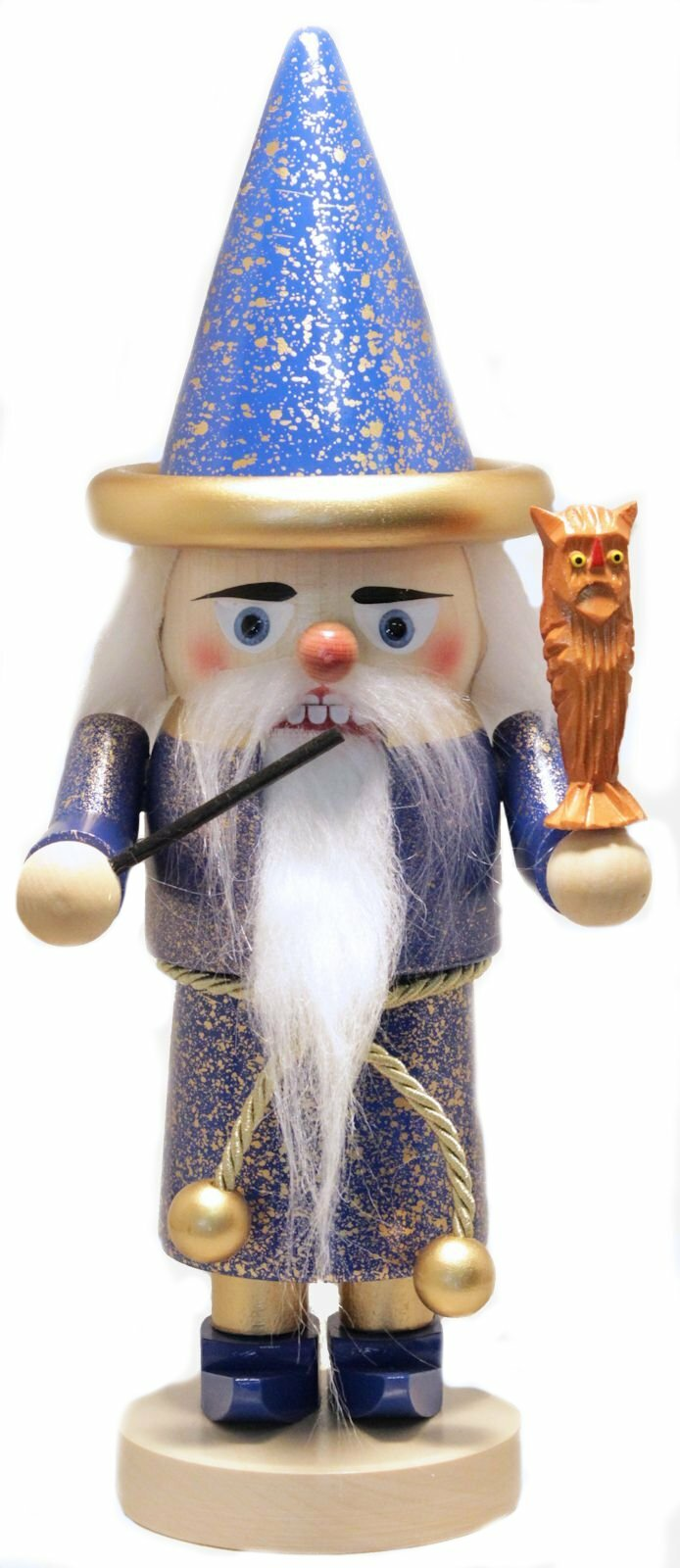 Pinnaclepeak Steinbach Signed Troll Merlin The Wizard German Wooden Christmas Nutcracker Wayfair