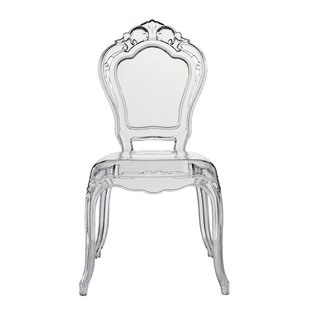 House of Hampton Mccroskey Premium Fashion Acrylic Princess Dining Chair (Set of 4)