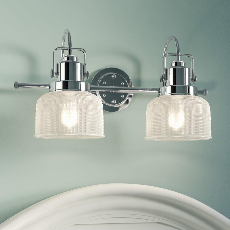 Beachcrest Home Gotha 2-Light Vanity Light & Reviews | Wayfair