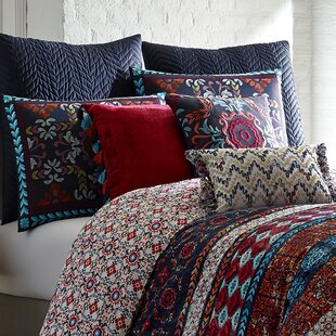 Mexico City Luminoso Lumbar Pillow. By Blissliving Home