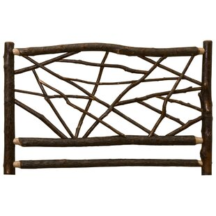 Fireside Lodge Hickory Twig Open-Frame Headboard