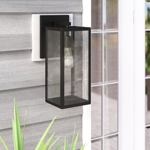 Rettig 1-Light Outdoor Wall Lantern