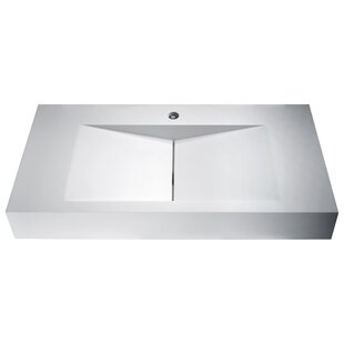 Guide to buy Althea Plastic Rectangular Vessel Bathroom Sink By ANZZI