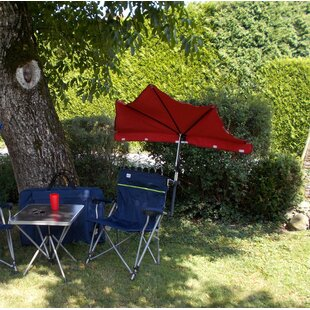 Amiens Reclining Camping Chair And Table Set By Sol 72 Outdoor