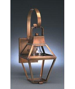Lundeen 1-Light Outdoor Wall Lantern by L..