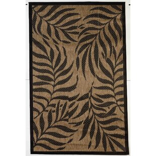Caenada Tropical Brown/Black Indoor/Outdoor Area Rug