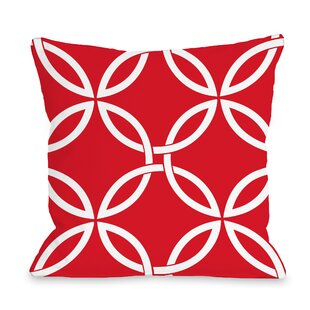 Melfa Interwoven Outdoor Throw Pillow