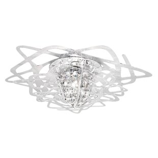 SLAMP Aurora Mini 1-Light Flush Mount