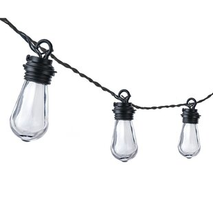 10.5 ft. 10-Light Standard String Light