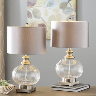Compare prices Cannaday 28 Table Lamp (Set of 2) By Andover Mills